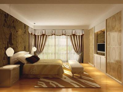 适合老年人的卧室房间装修风格效果图